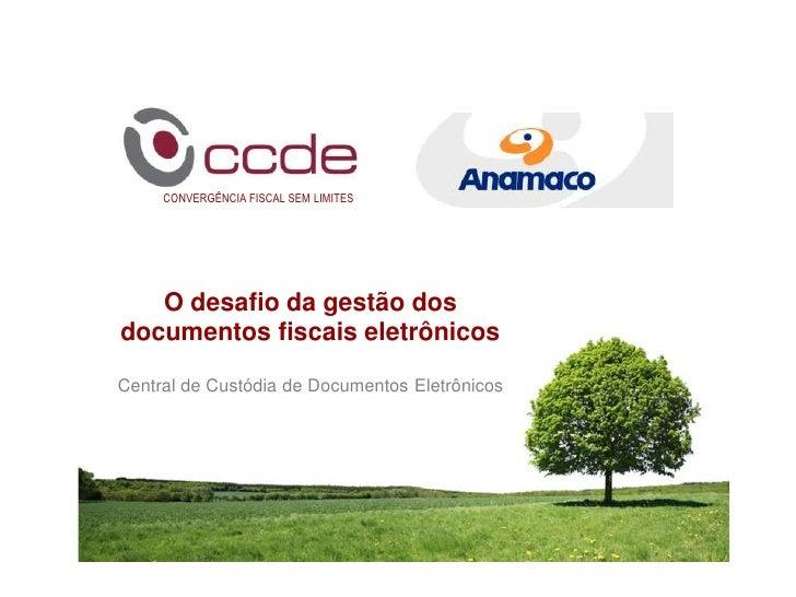 Apresentação CCDE