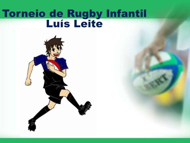 Torneio de Rugby Infantil       Luís Leite