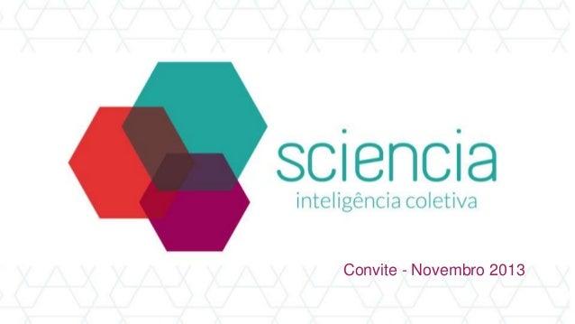 Convite - Novembro 2013