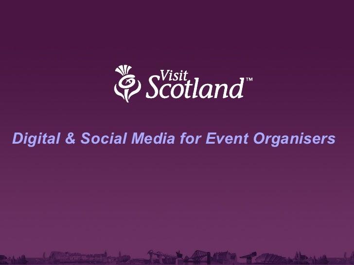 Digital & Social Media for Event Organisers