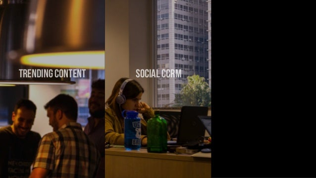 trending content social CCRM