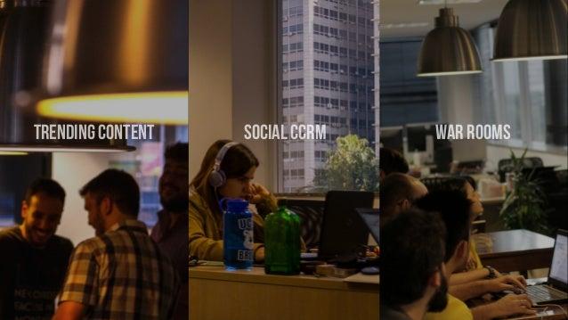 trending content social CCRM war rooms