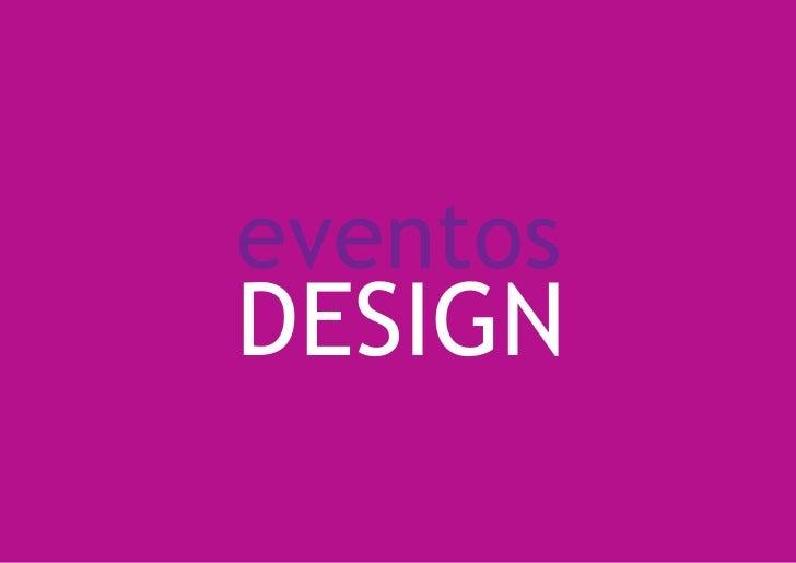 eventos DESIGN