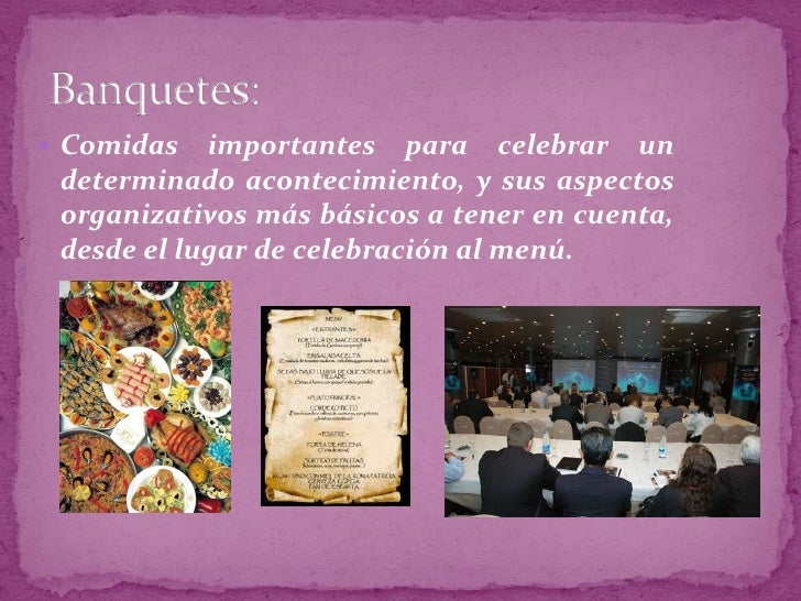 Comidas importantes para celebrar un determinado acontecimiento, y sus aspectos organizativos más básicos a tener en cuent...