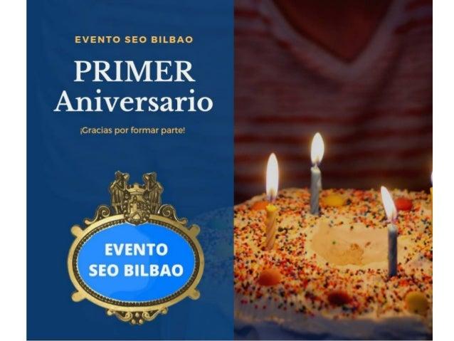 Evento SEO Bilbao #SeoBilbao Gracias eventoseobilbao.com