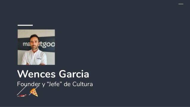 """Wences Garcia Founder y """"Jefe"""" de Cultura 🏎 🍕"""