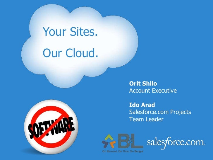 Your Sites. <br />Our Cloud.<br />Your Sites.<br />Our Cloud.<br />Orit Shilo<br />Account Executive<br />Ido Arad<br />Sa...
