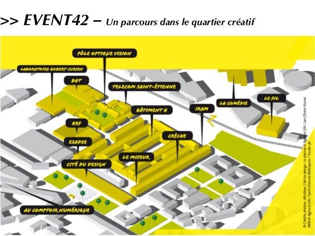 >> EVENT42 – Un parcours dans le quartier créatif