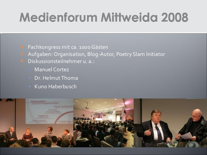 Eventprojekte 2007 bis 2011 Slide 2