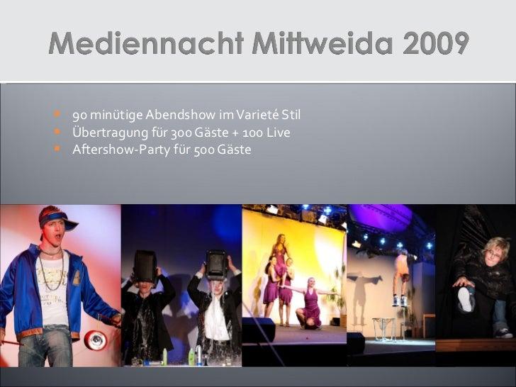 Eventprojekte 2007 bis 2011 Slide 3