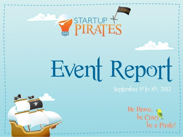 Event Report September 1st to 8th, 2012