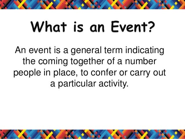 Events Management Industry in the Philippines Slide 2