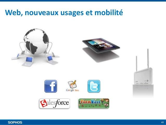 Web, nouveaux usages et mobilité  41