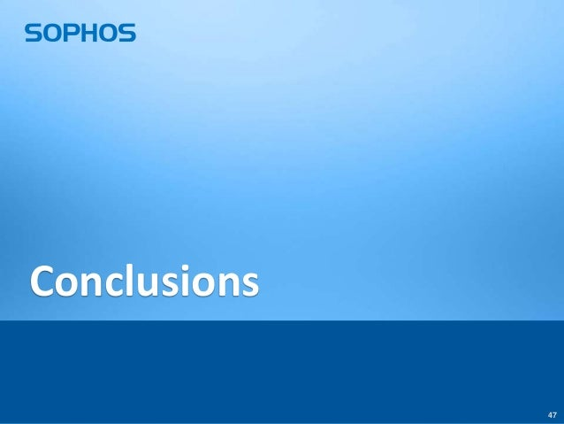 Conclusions 47