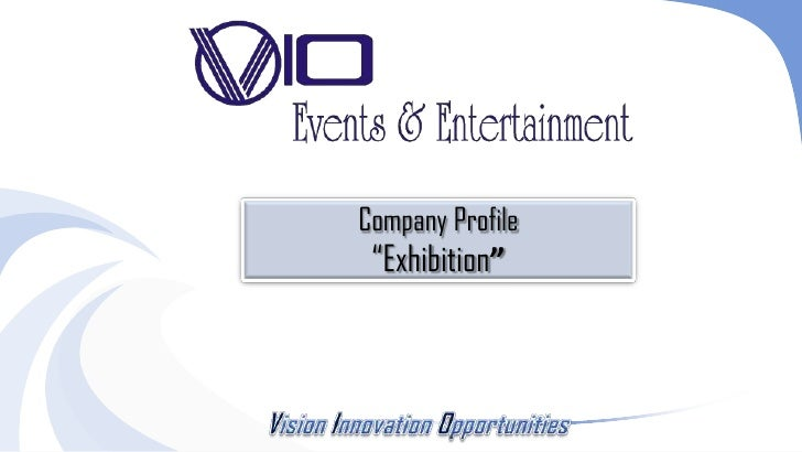 "Company Profile ""Exhibition"""