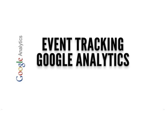 Event tracking google analytics