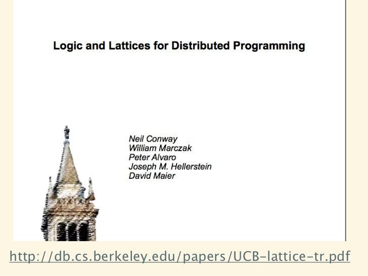 http://db.cs.berkeley.edu/papers/UCB-lattice-tr.pdf