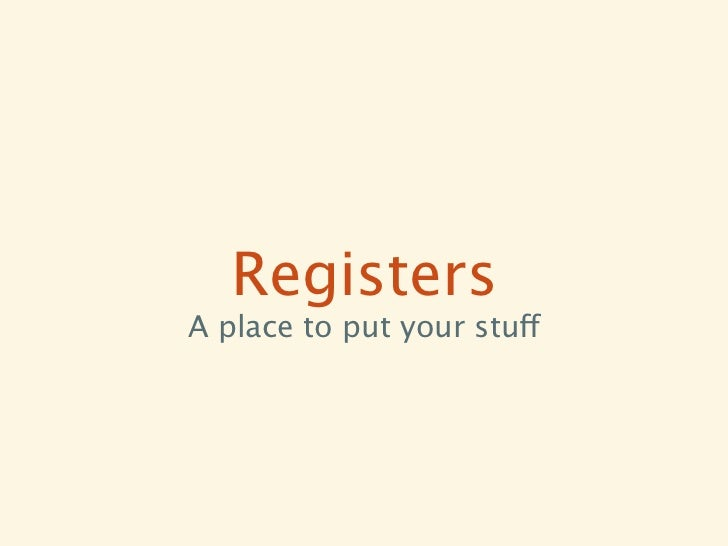 Registers• Last-Write Wins (LWW-Register) • e.g. Columns in Cassandra• Multi-Valued (MV-Register) • e.g. Objects (values) ...