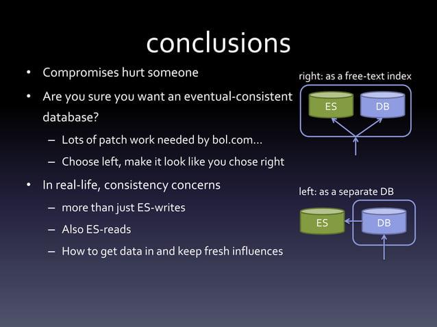 immediateeventual consistency slower faster performance (read & write)