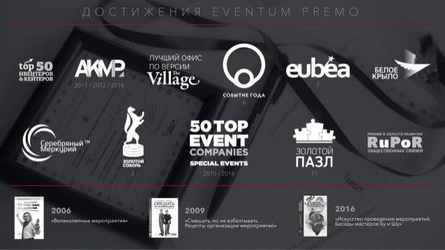 ПОЧЕМУ EVENTUM PREMO ЭКСПЕРТЫ ? МЫ опыт работы со строительными брендами позволил нам хорошо разобраться в специфике напра...