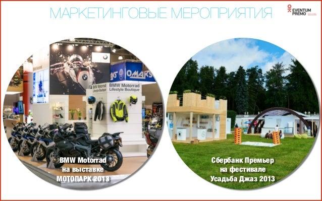 МАРКЕТИНГОВЫЕ МЕРОПРИЯТИЯ 20 Infiniti презентация Q50 для Клиентов сентябрь 2014 Сбербанк Первый на московском биеннале 2013