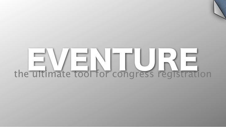 EVENTUREthe ultimate tool for congress registration
