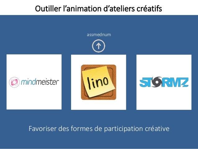 Outiller l'animation d'ateliers créatifs Favoriser des formes de participation créative assmednum