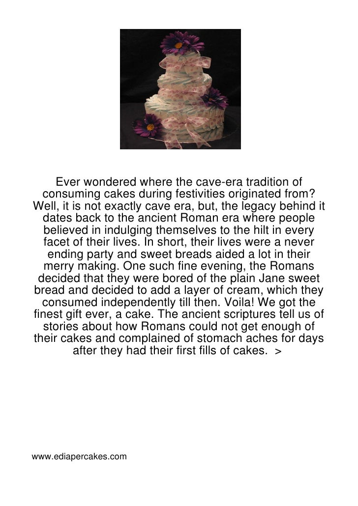 Ever wondered where the cave-era tradition of  consuming cakes during festivities originated from?Well, it is not exactly ...