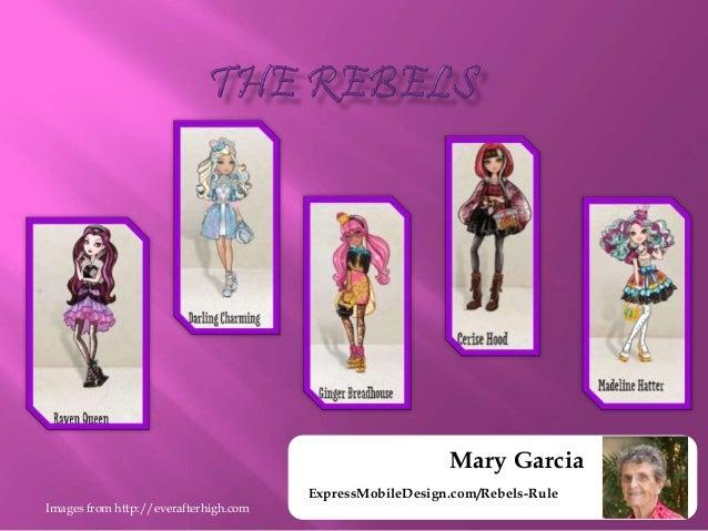 Mary Garcia ExpressMobileDesign Rebels Rule 3