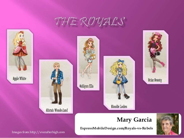 Ever After High Royals