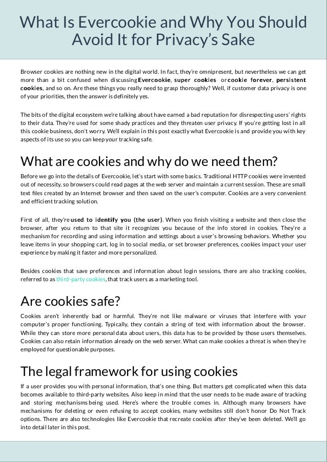 What Is Evercookie and Why You Should Avoid It for Privacy's