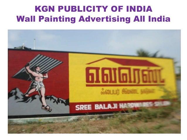 Wall Painting Advertising Tamilnadu