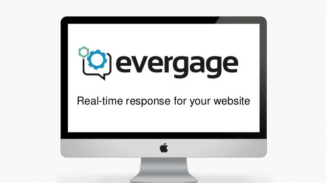 Real-time response for your website