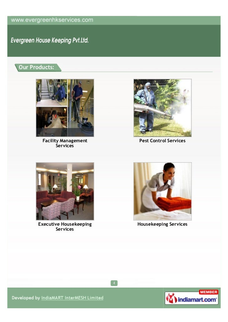Our Products:        Facility Management     Pest Control Services               Services       Executive Housekeeping   H...