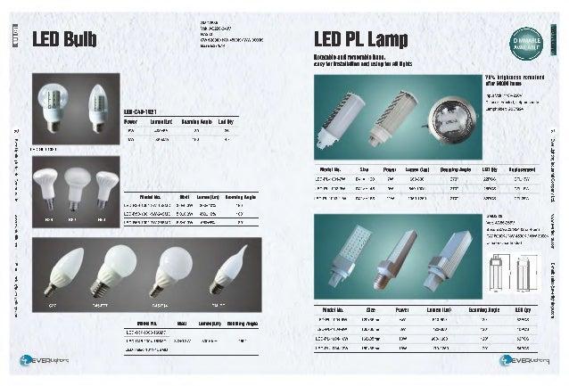 Ever lighting catalog 2015