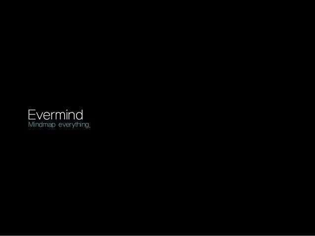 Evermind  Mindmap everything.