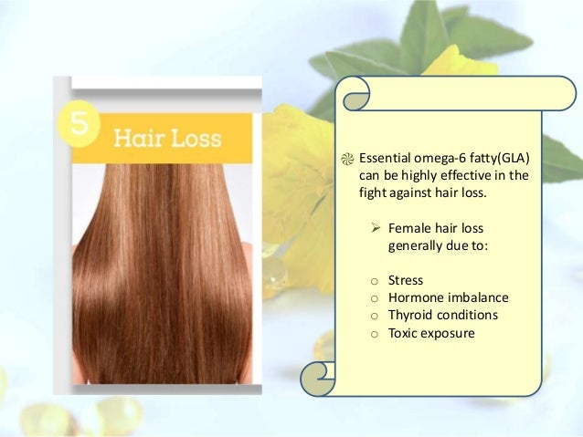 can evening primrose oil cause hair loss