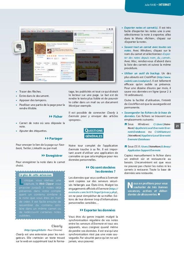 20 ATHENA 302 Juin 2014 INTERNET 16 O Tracer Des Flches