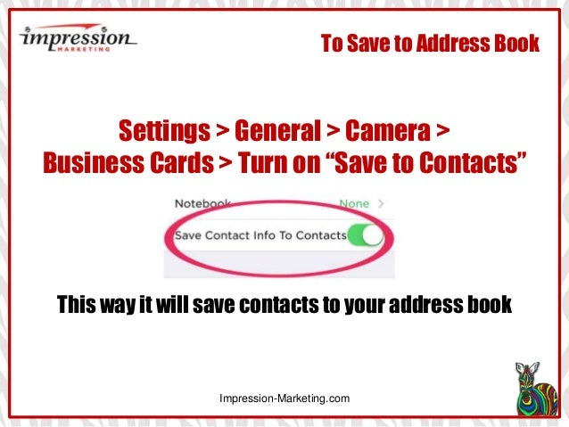How to use evernote app for linkedin business contacts register app wlinkedin login impression marketing 5 reheart Image collections