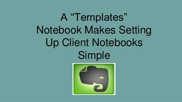 Evernote For Real Estate Agents