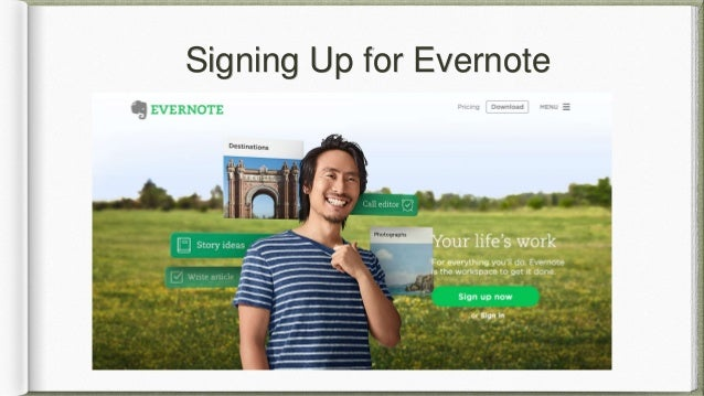 evernote instructions for android