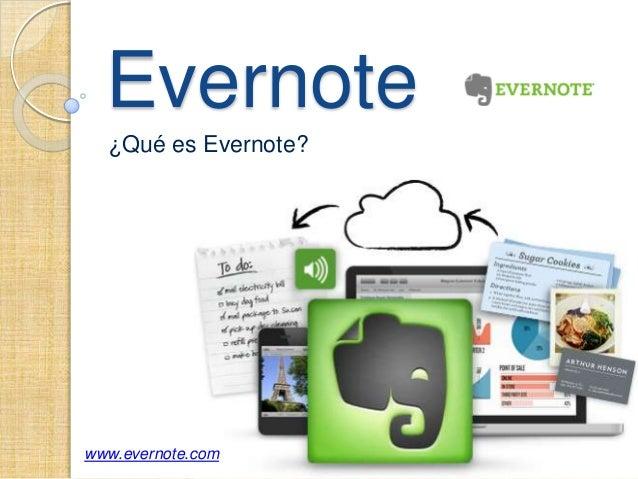 Evernote  ¿Qué es Evernote?www.evernote.com