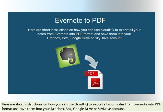 EVERNOTE SEARCHABLE PDF DOWNLOAD