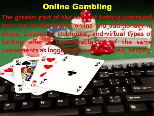 The greater part of the sorts of betting portrayed here can be discovered online and additionally in shops, arcades or clu...