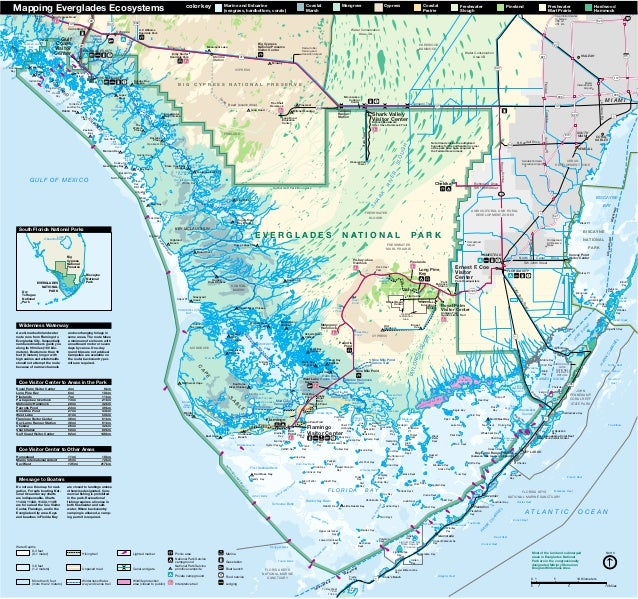 NostalgicOutdoors Everglades National Park MAP