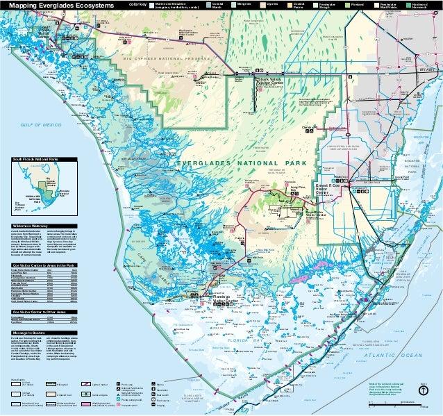 Everglades Florida Map.Nostalgicoutdoors Everglades National Park Map