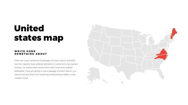 EVERY FREE MINIMAL POWERPOINT KEYNOTE TEMPLATE - Us map keynote