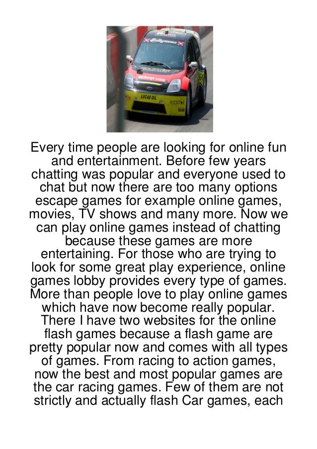 Every time people are looking for online fun      and entertainment. Before few yearschatting was popular and everyone use...