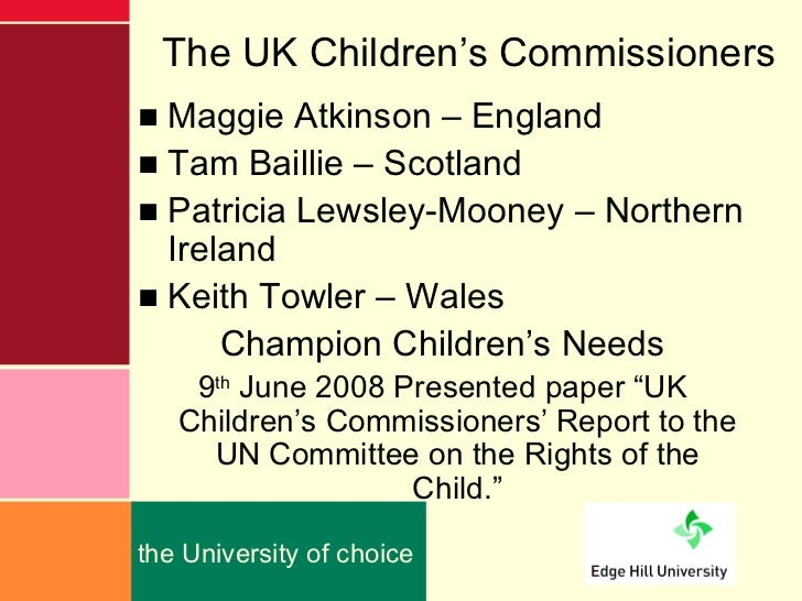 Every child matters act 2004