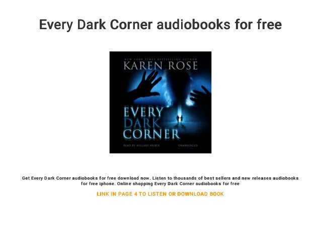 Every Dark Corner audiobooks for free